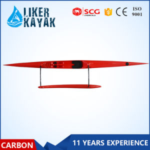 Carbon Fiber Surfski Outrigger Canoe with Floater pictures & photos
