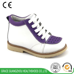Grace Ortho Lace up Children Orthotic Shoes (4712729) pictures & photos