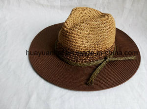 85% Paper 10%Polyester 5%Raffia Straw Leisure Style Safari Hats
