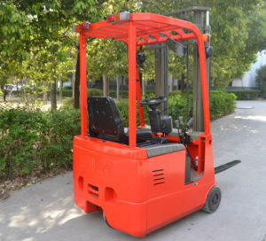 3-Wheel Electric Forklift with CE Certificate pictures & photos
