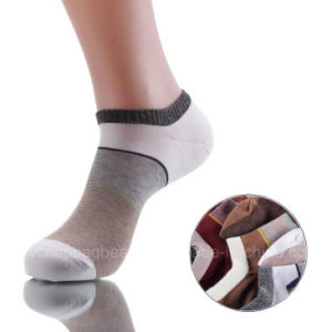 Thin Cheap Men Cotton Ankle Socks pictures & photos