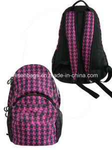 600d Polyster Leisure Backpack School Backpack Bag