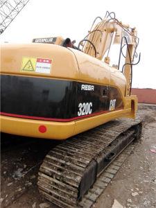 Used Cat Medium-Sized Crawler Excavator (320C) Construction