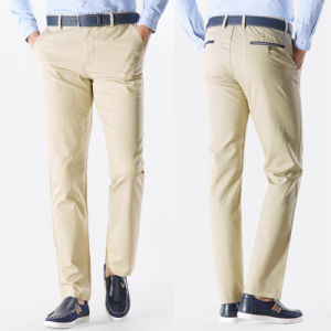 Custom High Quality Men′s Chino Leisure Work Pants pictures & photos