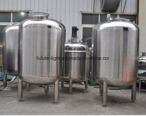Stainless Steel Jacketed Agitated Tank pictures & photos