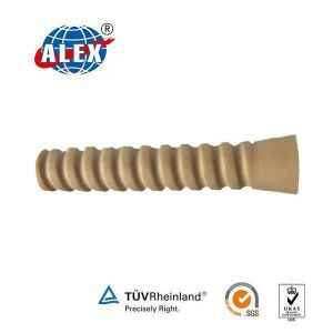 Rail Plastic Dowel for Screw Spike pictures & photos