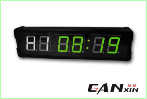 [Ganxin] Popular 4 Inch Double Design Digital LED Clock pictures & photos