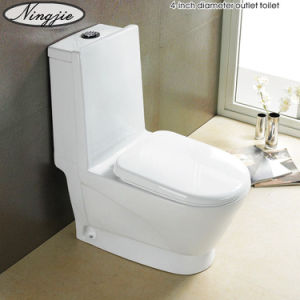 Hot Selling Ceramic One-Pices Toilet (2869) pictures & photos