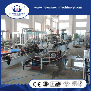 Stainless Steel Linear Type Beer Filling Machine for Glass Bottle pictures & photos