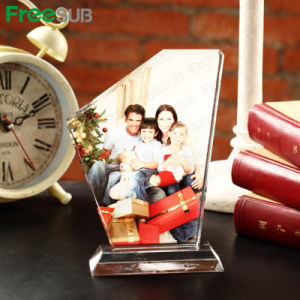 Freesub Sublimation Photo Triangle Screen Crystal (BSJ11) pictures & photos