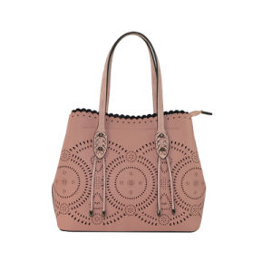 Laser Punched Bag in Bag Designer Fashion Ladies PU Handbag Zxk806 pictures & photos
