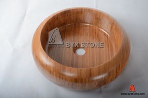 Bamboo Wash Basin / Sink for Kitchen, Bathroom and Hotel pictures & photos