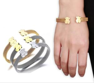 Fashion Jewelry Women′s Stainless Steel Bracelet pictures & photos