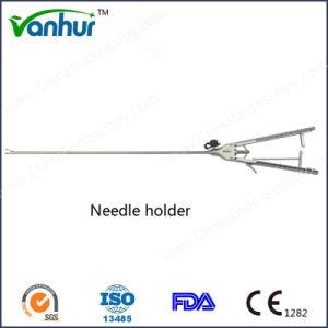 Laparoscopic Needle Holder with Rachet Handle pictures & photos
