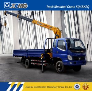 Hot Sale XCMG Sq4sk2q 4ton Straight Arm Truck Mounted Crane pictures & photos