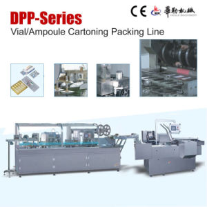 Pharmaceutical Fully Automatic Vial Ampoule Cartoning Packing Line pictures & photos