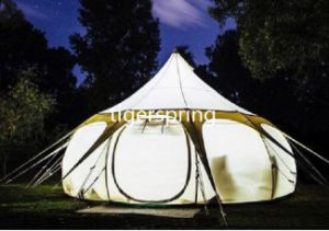 Waterproof Camping Resort Tent Glamping Lutos Belle Tent for Family