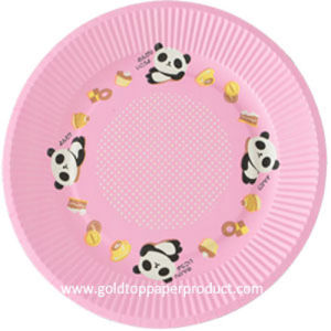 High Quality Paper Dessert Plates pictures & photos