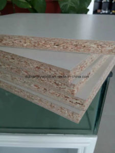 Nature Veneer or Melamine Paper Face 16-18mm Block Board pictures & photos