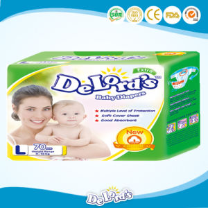 China Factory Japanese Sap, USA Fulff Pulp Baby Diaper pictures & photos
