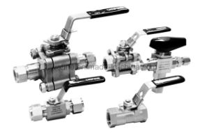 3-Piece High Pressure Applications Ball Valves pictures & photos