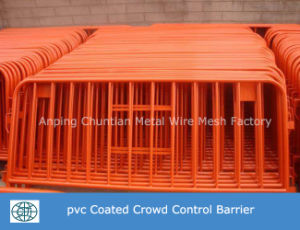 Hot Dipped Galvanized Portable Crowd Control Barrier for Control Traffic pictures & photos