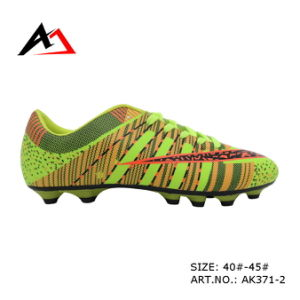 Sports Soccer Shoes Outdoor Colorful for Men Women (AK371) pictures & photos
