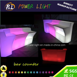 Plastic Straight Lounge Furniture Combination LED Modular Bar pictures & photos