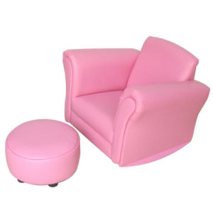 Modern Home Children/Kids Furniture/Ottoman Sofa/Stool Chair (SF-62) pictures & photos