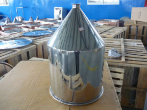 Stainless Steel Conical Fillling Hopper pictures & photos