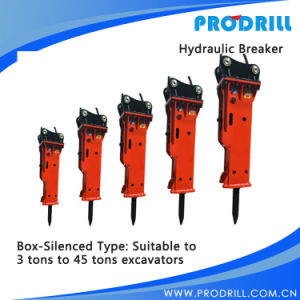 Silent Model Excavator Hydraulic Vibratory Breaker Hammer pictures & photos