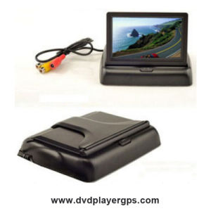 4.3inch TFT-LCD Folded Dashboard Display Car Rearview Camera pictures & photos