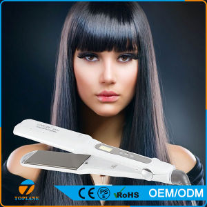LCD Display Ceramic Electric Hair Straightening Steam Hair Flat Iron Hair Straightener pictures & photos