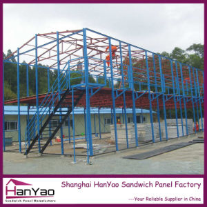 Prefabricated Steel Frame Prefab House for Warehouse pictures & photos