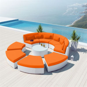 Hot Selling Curved Design Sectional Modular Round Sofa pictures & photos
