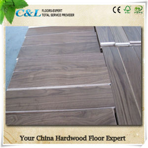 Shunde C&L Western Style American Walnut Solid Wood Flooring