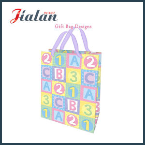 Print Number and Letters Gift Paper Bag pictures & photos
