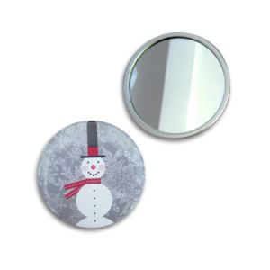 Christmas Festival Promotion Gift Makeup Mirror Portable Mirror pictures & photos