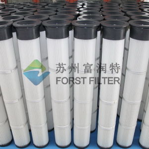 Forst Long Pulse Dust Collector Pleated Filter pictures & photos