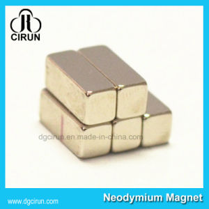 Strong Neodymium Permanent Block Generator Magnet pictures & photos