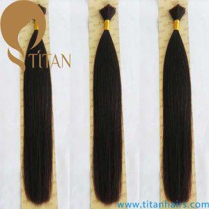 2# Color 100% Virgin Remy Human Hair