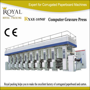 Ryay-1050f Series Computer Gravure Press pictures & photos