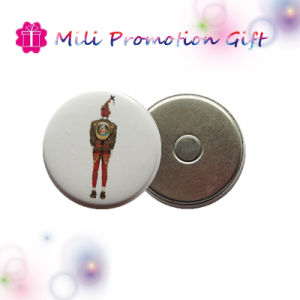 Custom Cheap Round Badge Magnet with 6years SGS Factoroy pictures & photos
