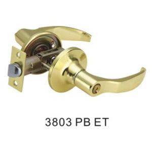 Aluminium Tubular Lever Handle Rosette Lock (3803 PB ET) pictures & photos