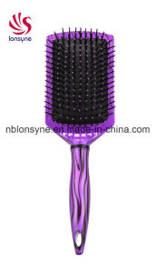Professional Plastic Hairbrush for Supermaket