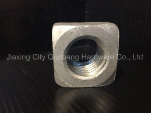 "Square Nuts (ANSI B18.2.2-Heavy Series 1/4""-1-1/2"" Gr. 2 Single Chamfer) pictures & photos"