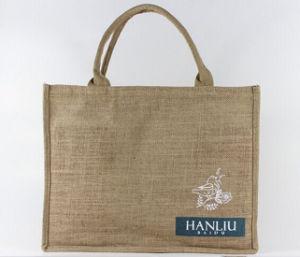 Wholesale Reusable Custom Eco Friendly Jute Bag Customized Jute Shopping Bag pictures & photos