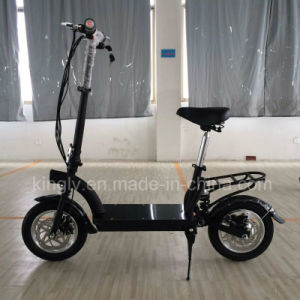 2016 New 36V300W Lithium Battery Scooter pictures & photos