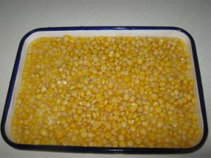Canned Golden Sweet Kernel Corn in Glass Bottle pictures & photos