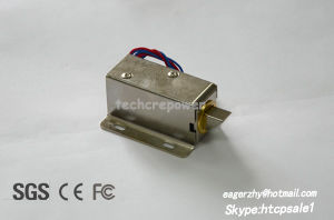 Best Selling Electric Cabinet Lock for Electronic Solenoid Lock Door 12V DC pictures & photos